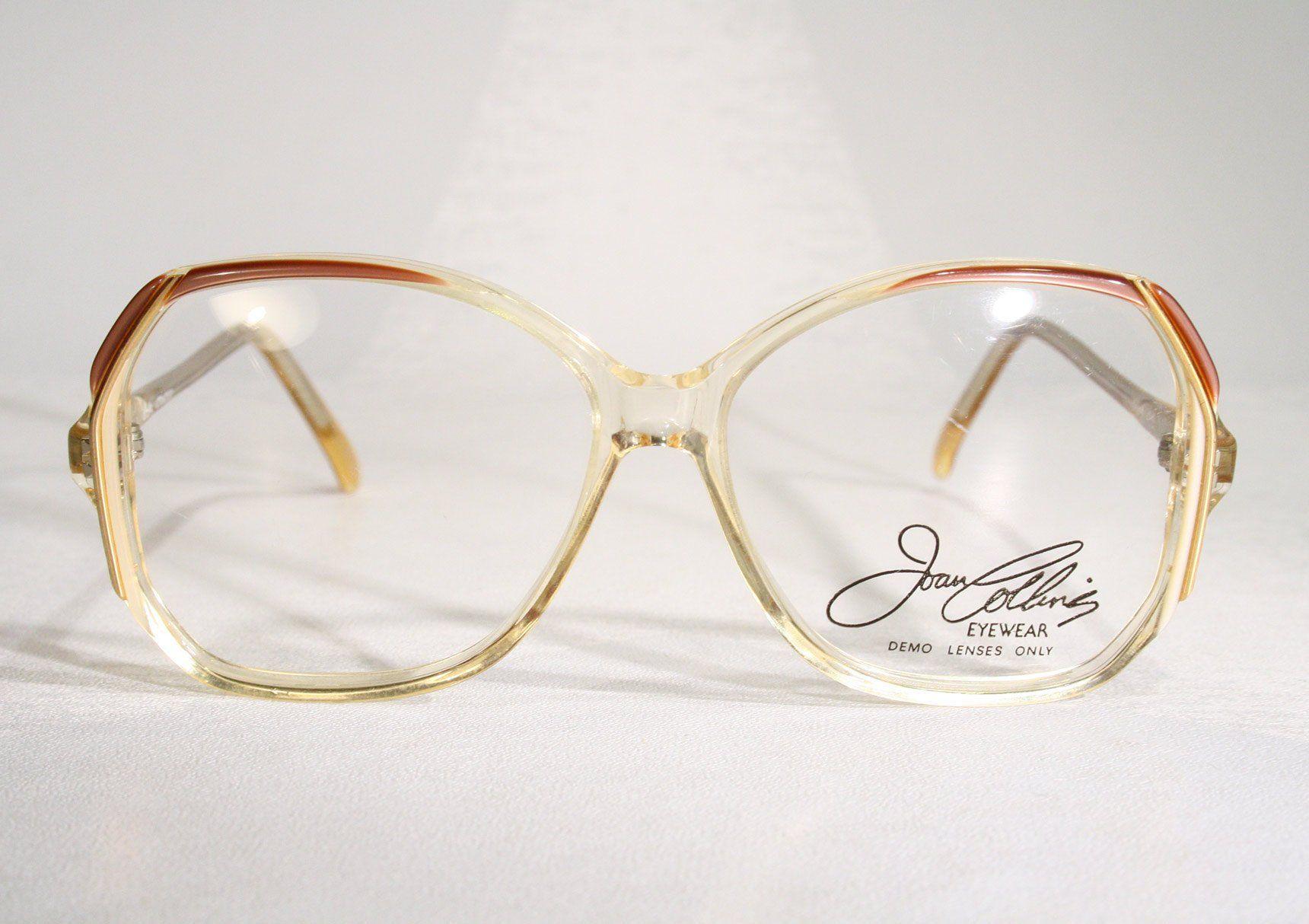 f579ae7be8 Children s Sized Vintage 80 s JOAN COLLINS Eyeglass Frames   Etsy (RipVanW)