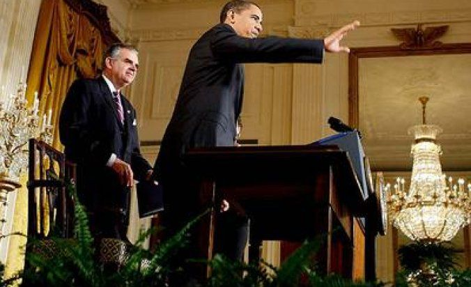 Obama firma decreto por cambio climático