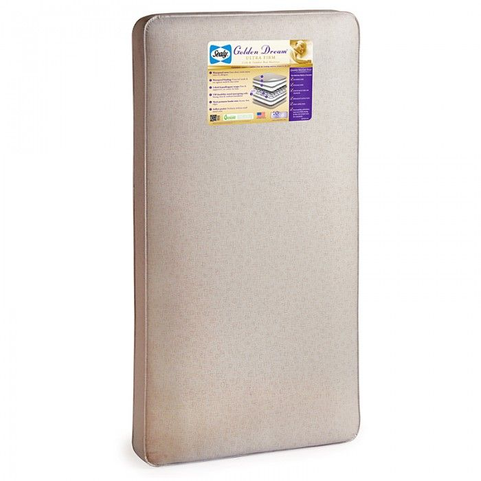 Enjoy Sunny Days With Your Baby After Long Naps On The Sealy Golden Dream Ultra Firm Crib Mattress A Quality Tested 150 Coil In Cribs Crib Mattress Mattress