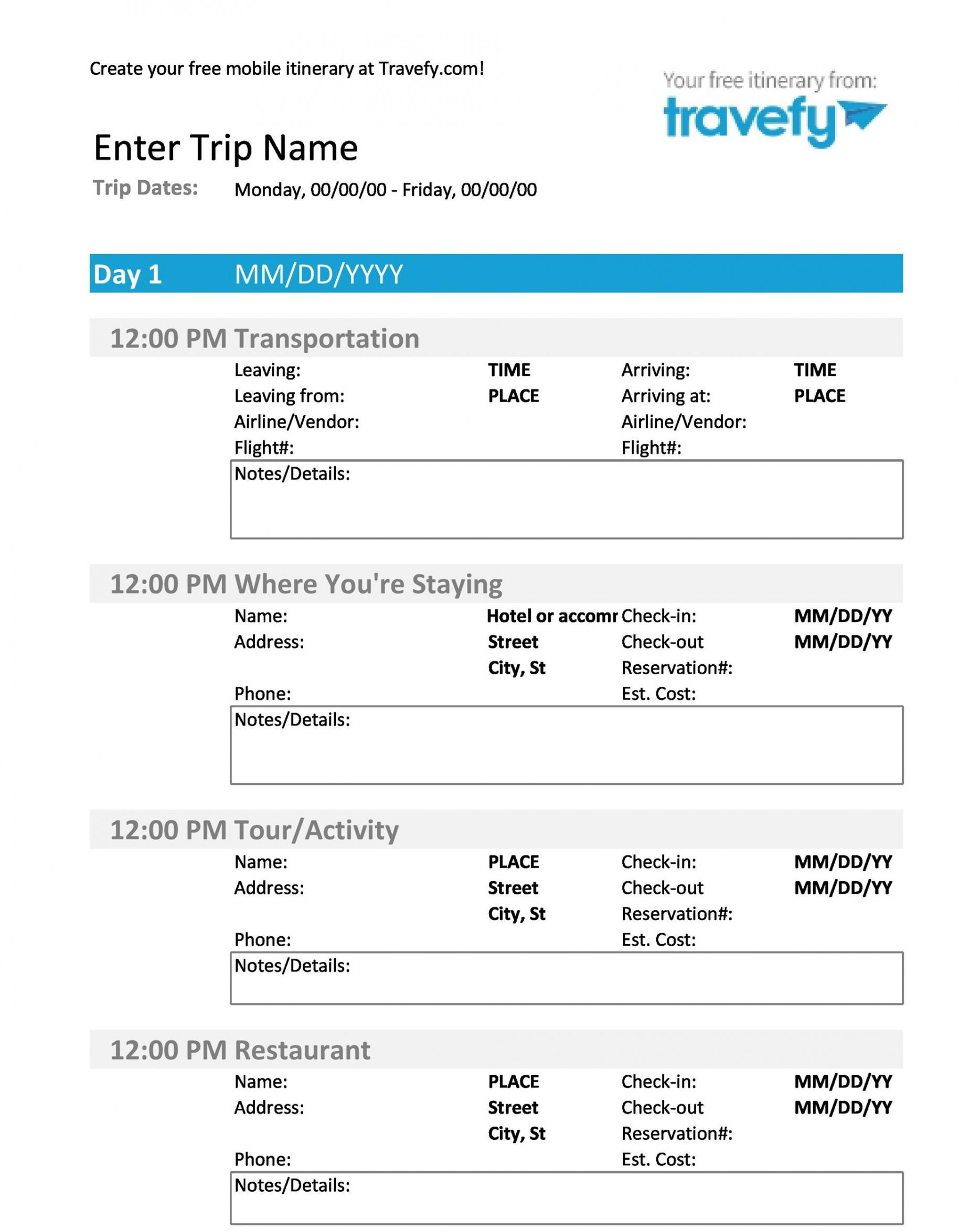 Editable 30 Itinerary Templates Travel Vacation Trip Flight Example Of Itinerary Template Doc Itinerary Template Travel Itinerary Template Travel Itinerary Example of itinerary for tour