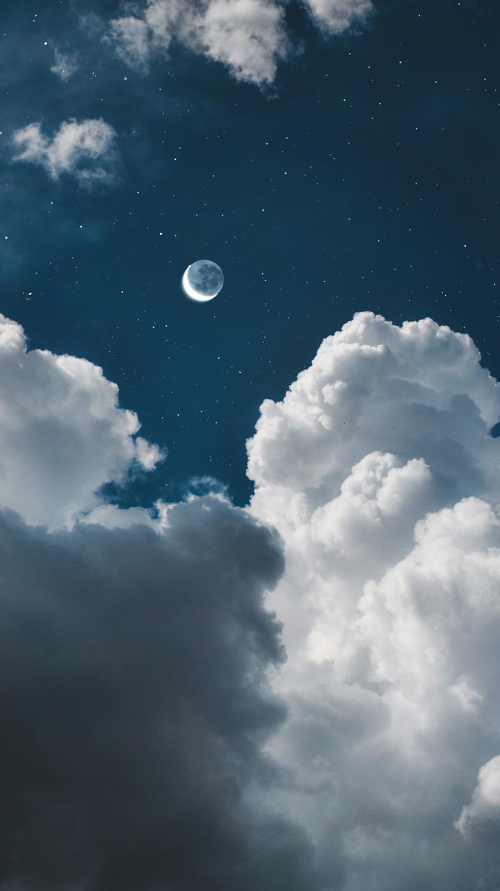 ゚ ゚ Random Moonlight Lockscreens Please Like Or In 2020 Sky Aesthetic Cloud Wallpaper Aesthetic Wallpapers