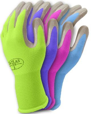 Nitrile Gardening Gloves Put Baby Handprints On The Outside To