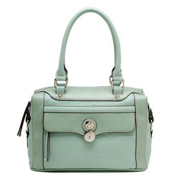 Mint Green Locket Bag