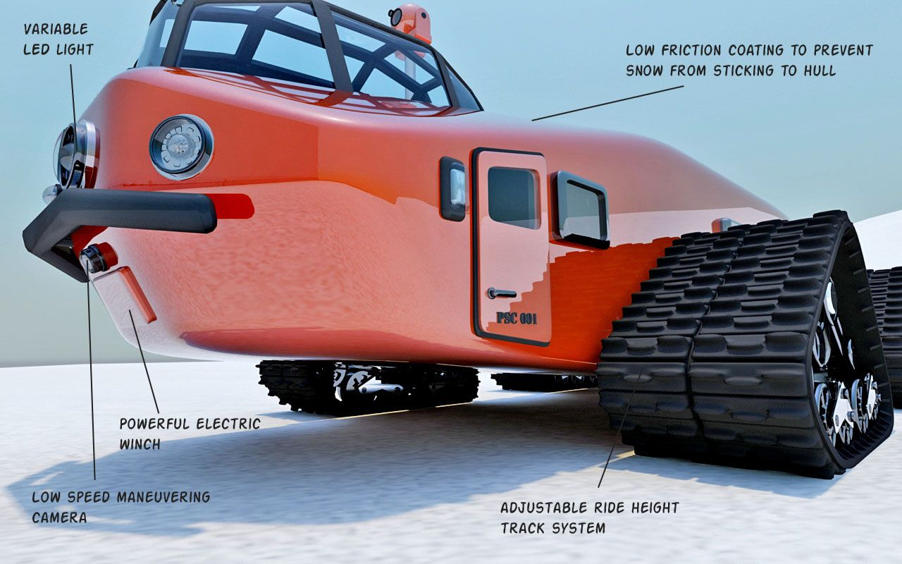 4x4 car toys  s inspired Polar Snow Crawler PSC  disenoart  Beau
