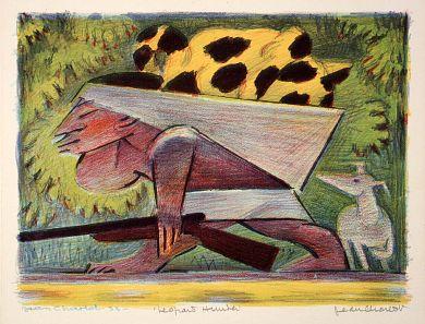 Leopard Hunter by Jean Charlot / American Art