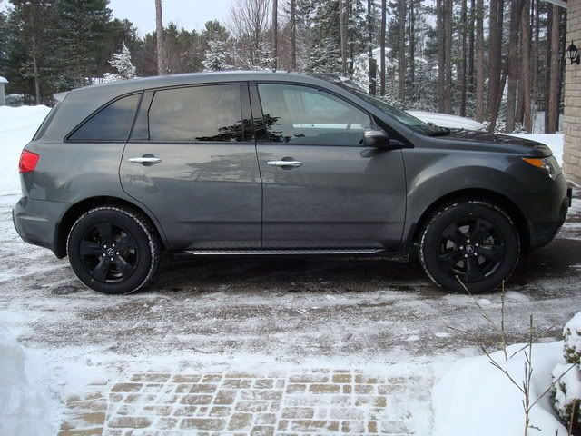 Charcoal Acura MDX With Black Rims Style Pinterest Black Rims - Black acura rims