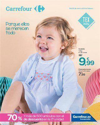 Catálogo Moda Infantil En Carrefour   Revista Carrefour De Moda Y Productos  Infantiles Con Ofertas Válidas