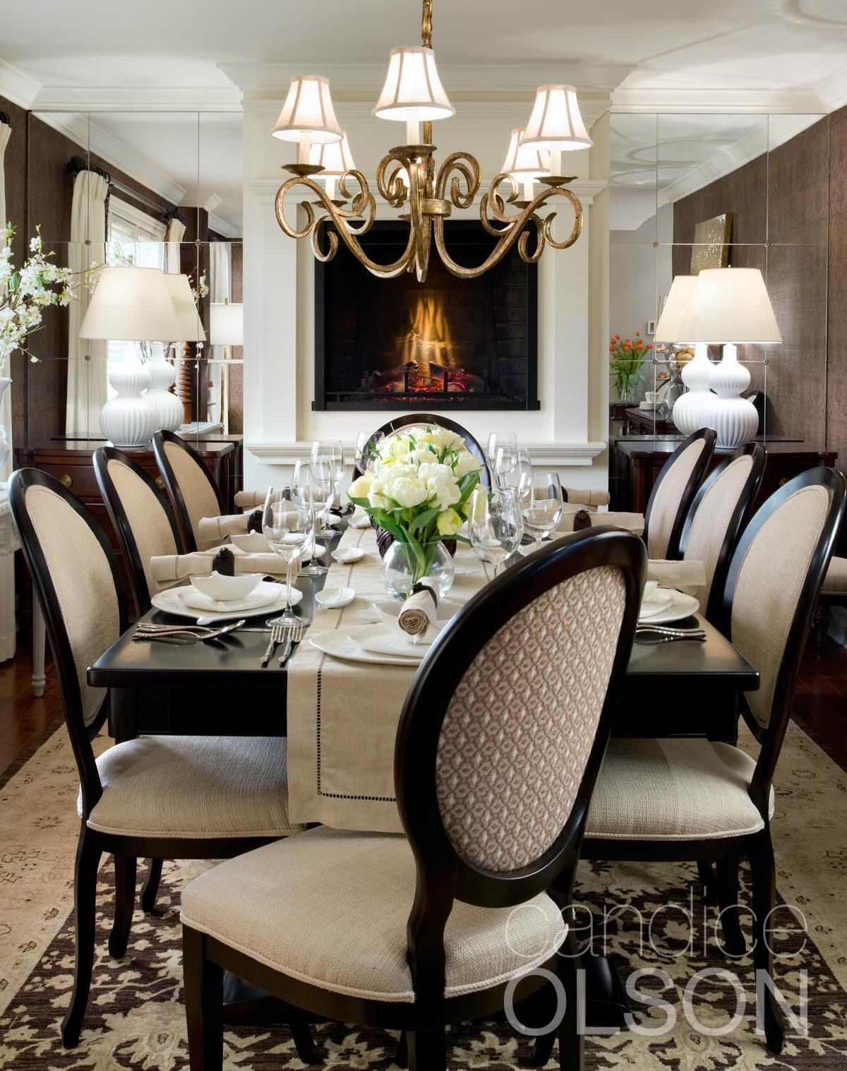 gorgeous dining room Home Pinterest Room Interiors and