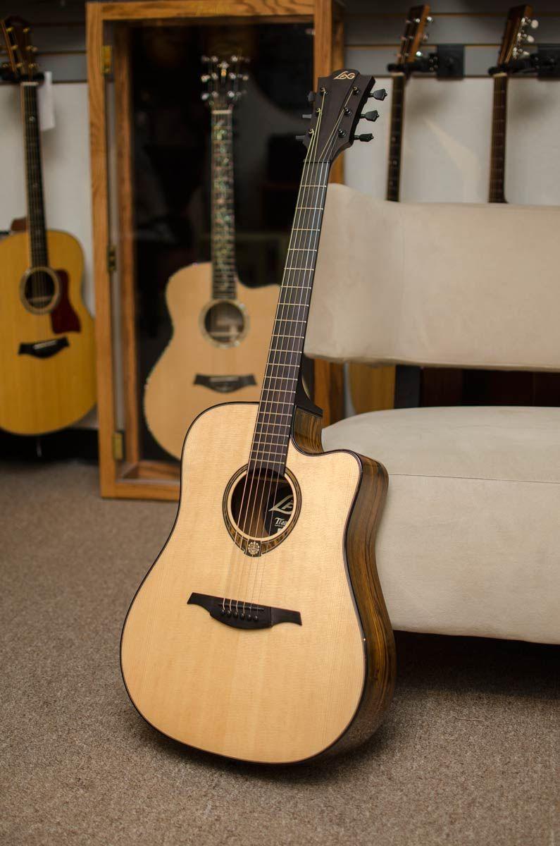 Lag Snakewood Spruce Top Dreadnought Cutaway Acoustic Electric Guitar Http Bananas Com Lag Snakewood Spruce T Acoustic Guitar Guitar Acoustic Electric Guitar
