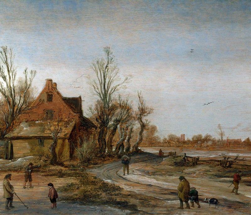 Esayas van de Velde - Winter Landscape