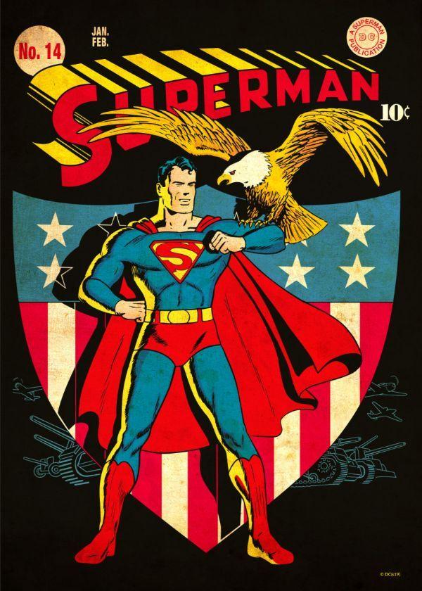DC Comics Classic Covers Displate Posters