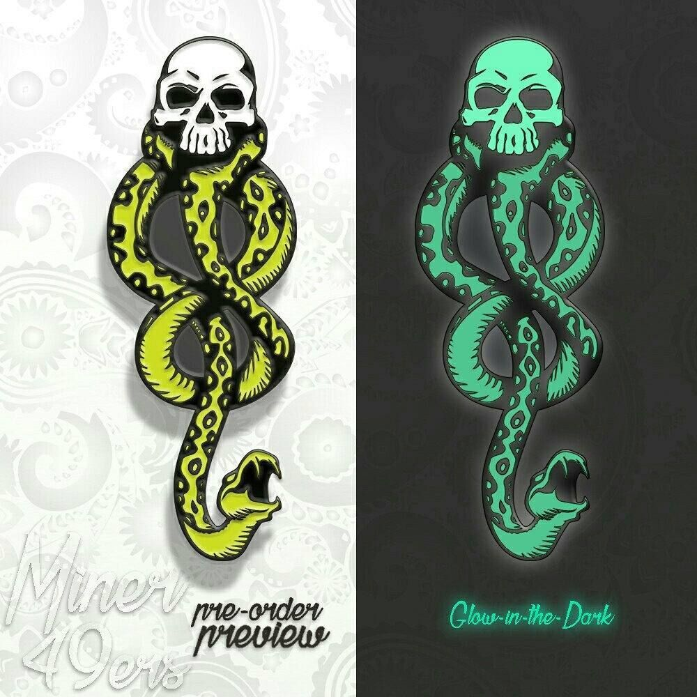 Glow in The Dark Death Eaters Magnet