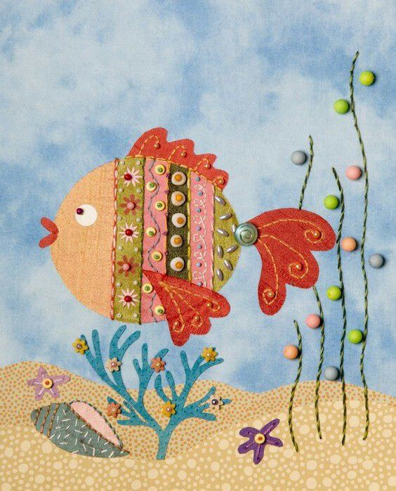 FISH QUILT...........PC