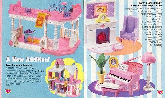 Vintage Dream Dollhouse Ad Playskool Dollhouse 90s Playskool