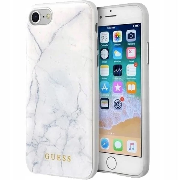 Guess Marble Etui Iphone 8 7 Bialy Zakupy Google Google Shopping Shopping Electronic Products