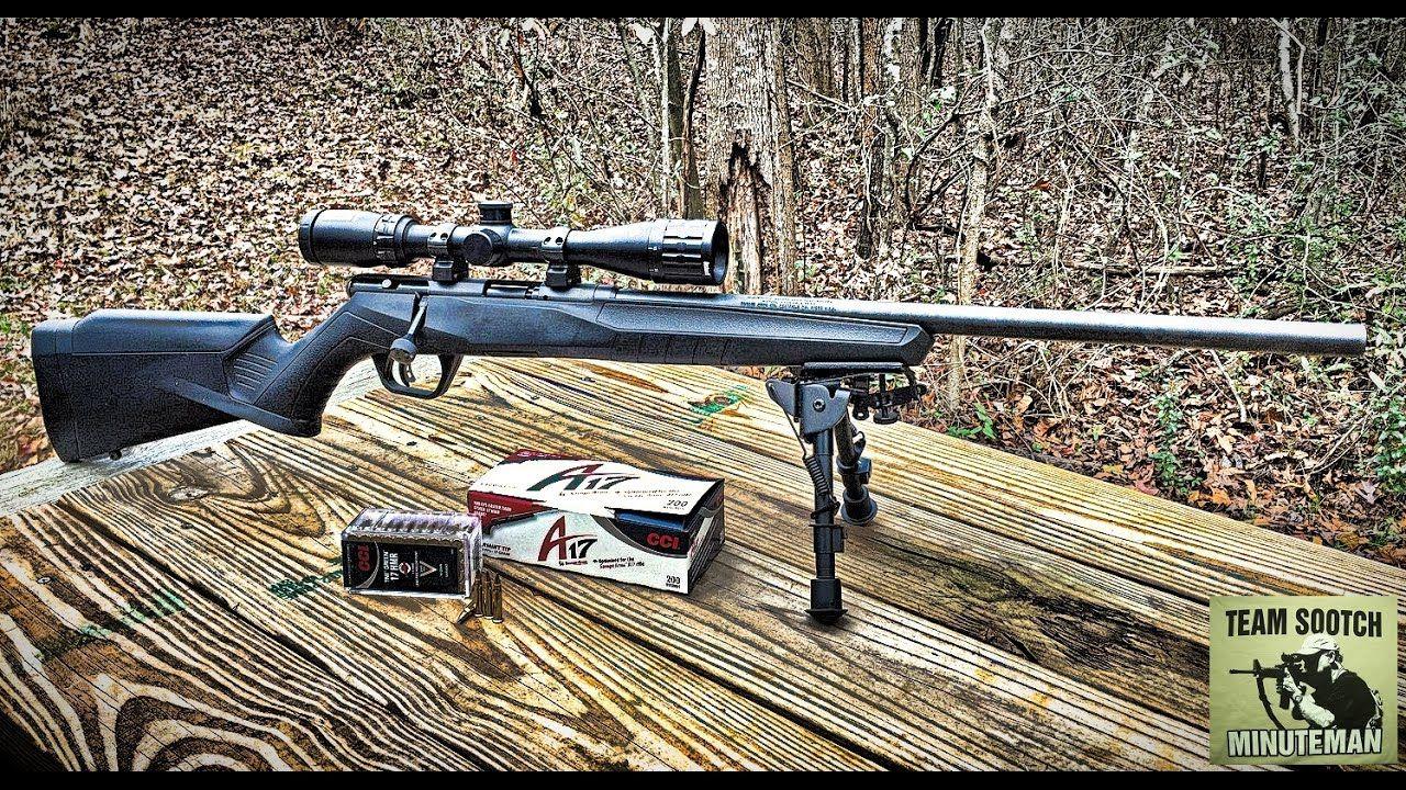 New Savage B17 FV 17 HMR Rifle | scopes & rifles | Savage rifles