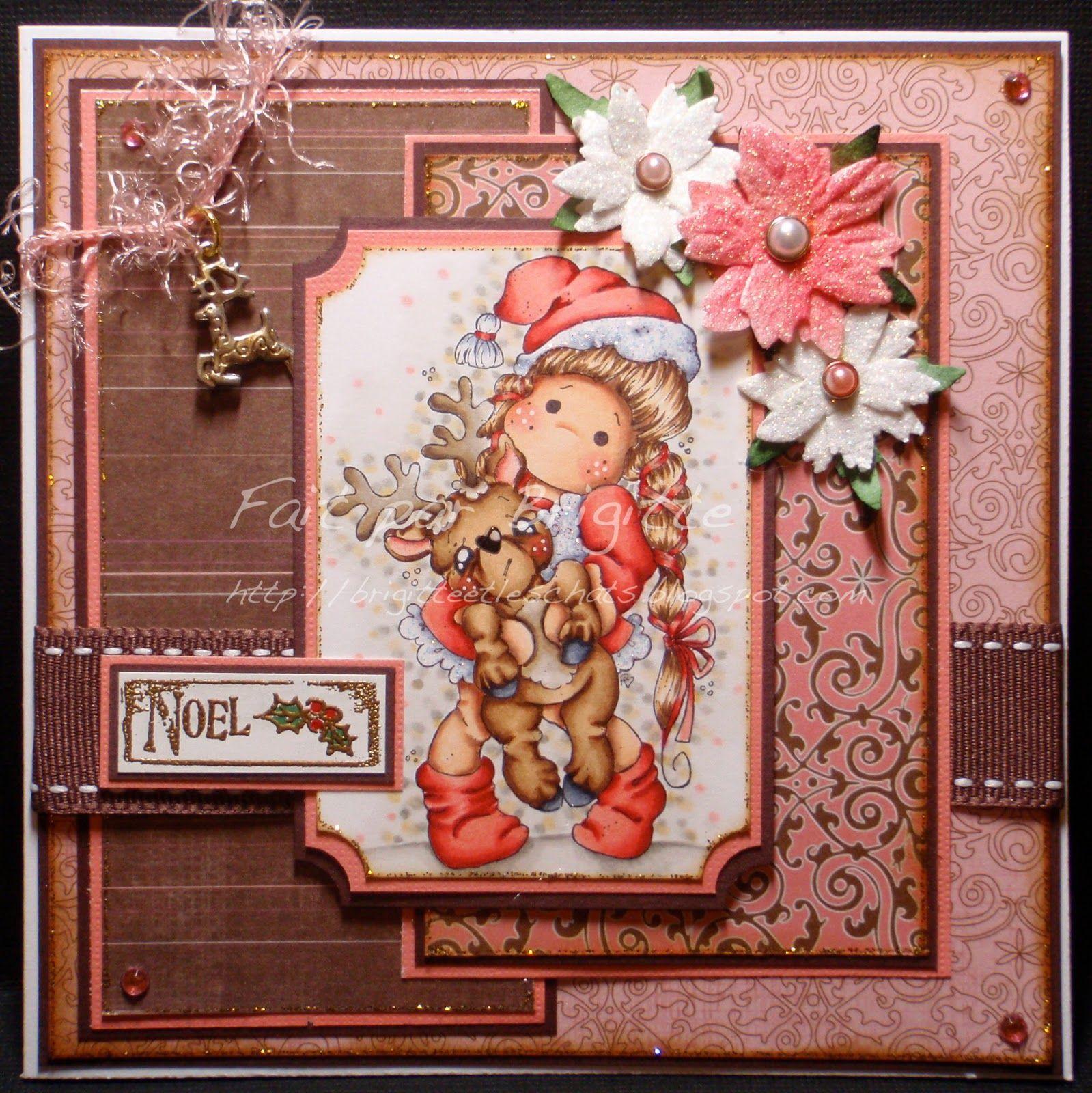 Christmas Story Themed Christmas Cards: Bricolage De Brigitte