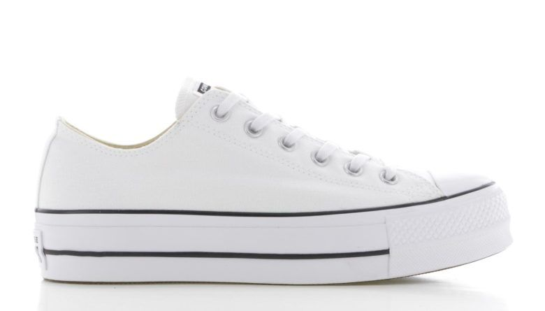 Converse Chuck Taylor All Star Lift Ox Wit Dames   560251C ...