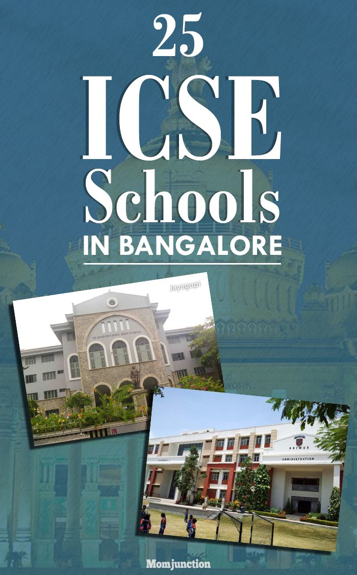 25 Top And Best ICSE Schools In Bangalore | Pinterest | School