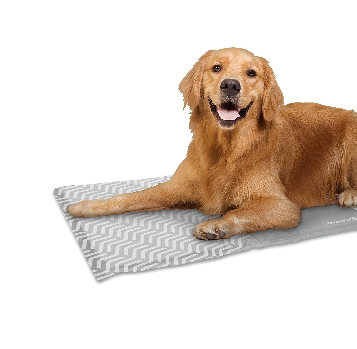 Avalanche Pet Cooling Mat Lightweight And Portable For Dogs And Cats And Other Pets Self Cooling And Non Toxic Gel This Cool Pad I Pet Cooling Mat Dogs Dog Cat