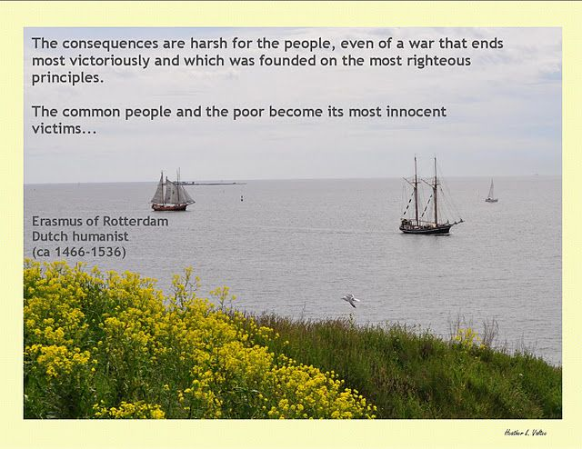 War...the common people become its most innocent victims
