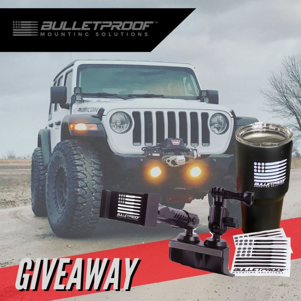 March 2020 Jeep Phone Mount Giveaway Jeep Jeep Accessories
