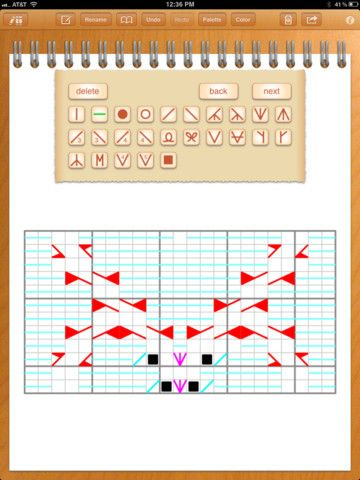 Ipad App Designknit Lets You Channel Your Inner Pattern Maker