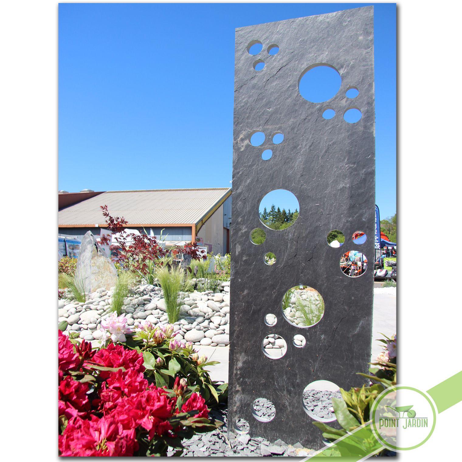 Ardoise Bulles Jardin Contemporain Idee Deco Jardin Deco Jardin