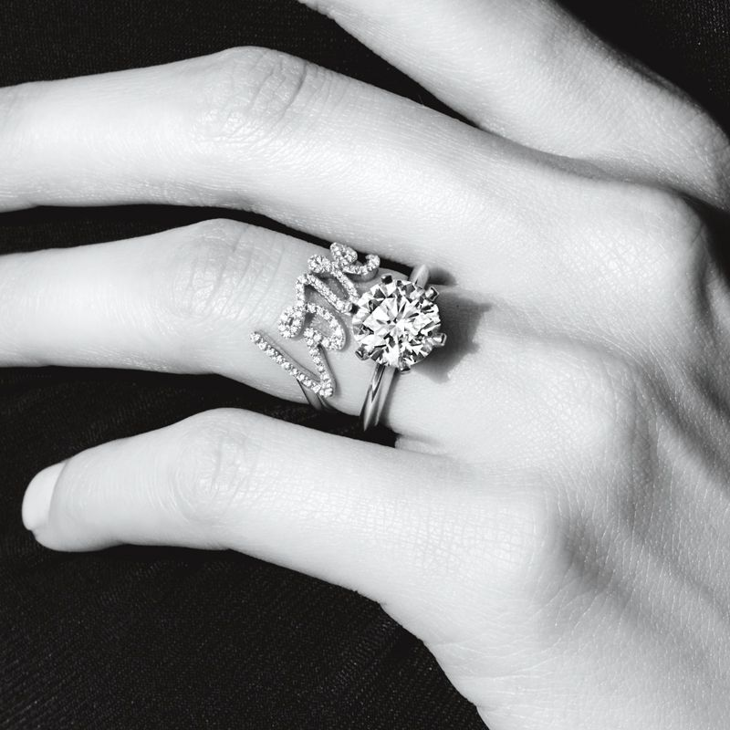 a318d4dc5a2d2 Tiffany Enchant®:Fleur Ring | This is Tiffany | Tiffany rings ...