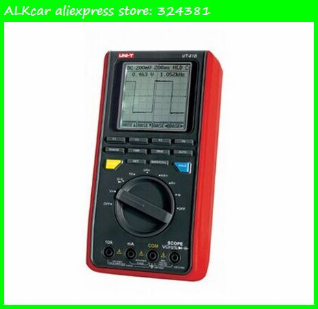 ALKcar UNI-T UT81B Handheld Digital Multimeters Oscilloscope scopemeter UT81B LCD Display Scope Digital meters