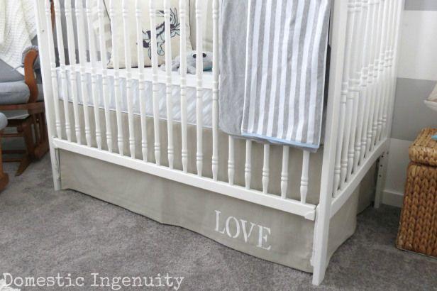 Lovely Crib Bumper Tutorial