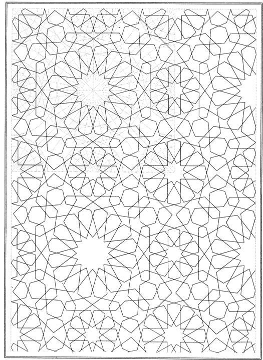 Whimsical background - Anti stress Adult Coloring Pages | 720x525