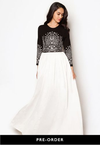 Long sleeve maxi dress online singapore