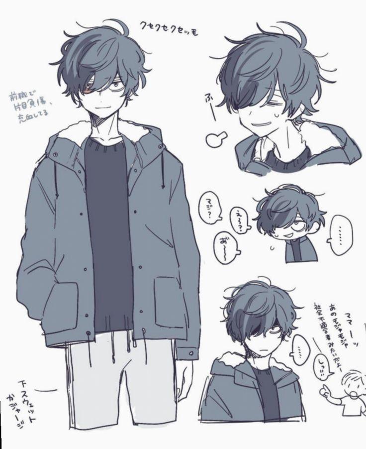 15 Anime Sketch Boy Hair Anime Drawings Boy Anime Sketch Character Art