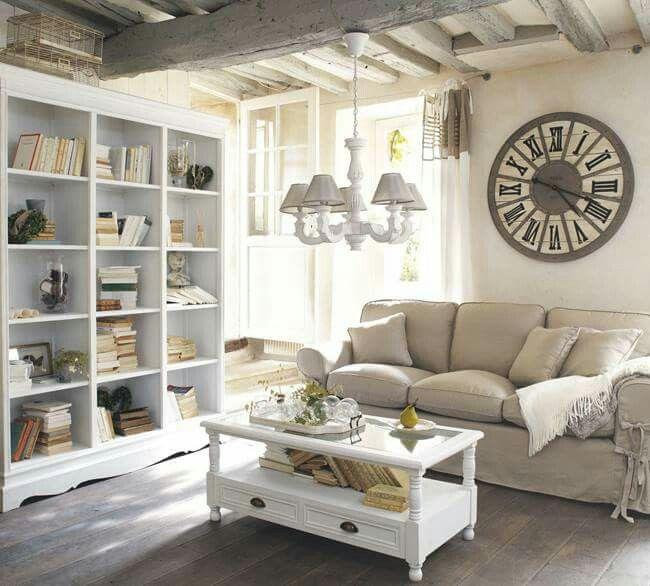 Landhausstil Wohnzimmer! Wunderschön! Deko Pinterest - wohnzimmer couch landhausstil