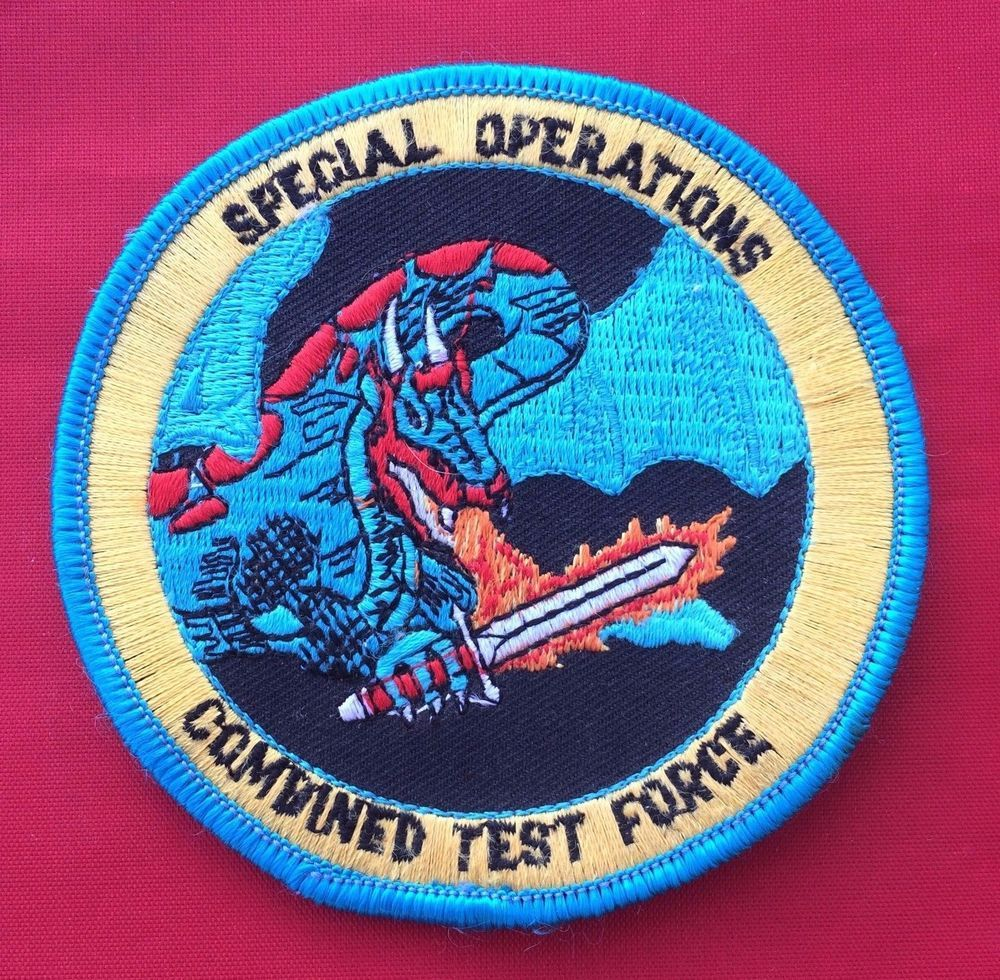 USAF Special Operations Combined Test Force #Military #Patch