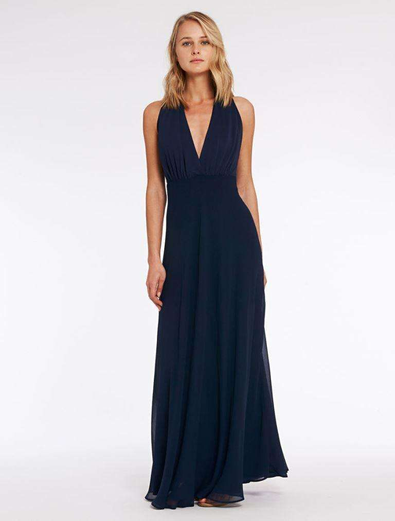 c951e195c0a3 Pennyblack collezione Primavera-Estate 2016 - Long dress blu da cerimonia  Pennyblack