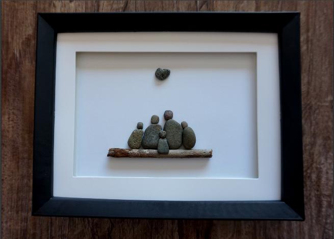 How To Make Pebble Art Video Tutorial Family Pebble Art Pebble Art Family Pebble Art Stone Art Diy