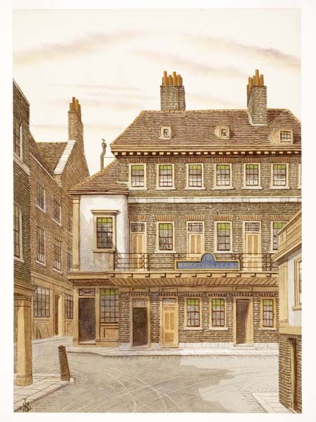 The Saracen S Head Hotel Snow Hill Museum Of London