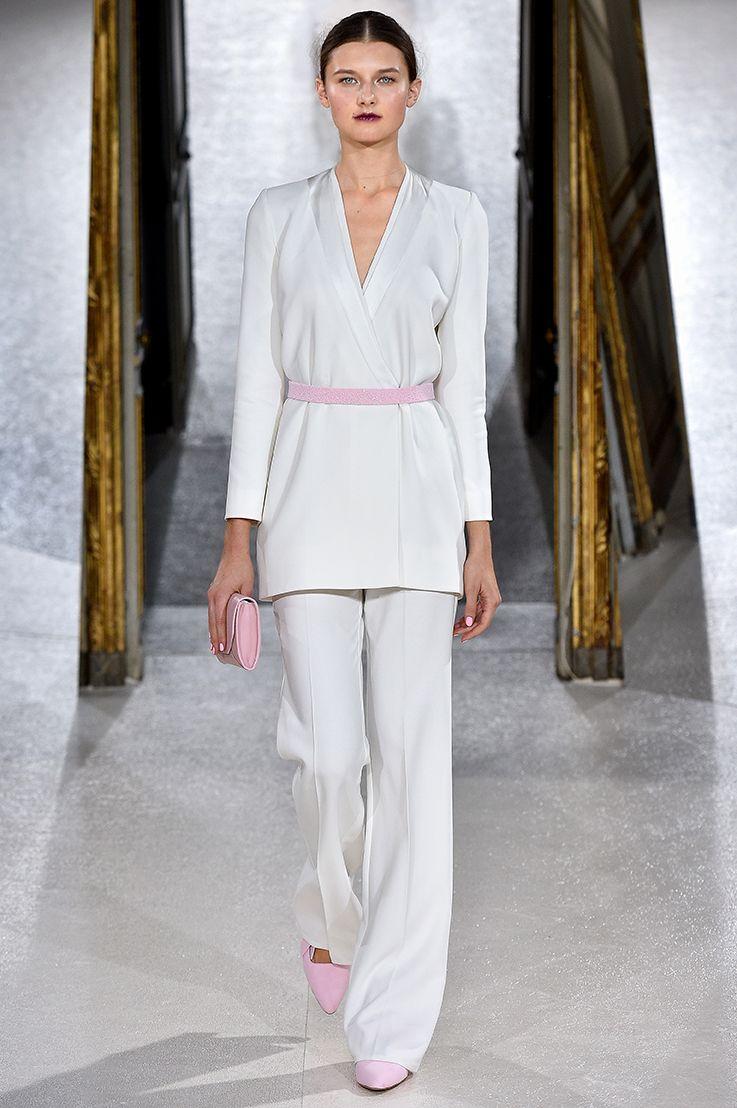 Blazer Combination #rose #allpink #bridalcouture #bridaldress ...