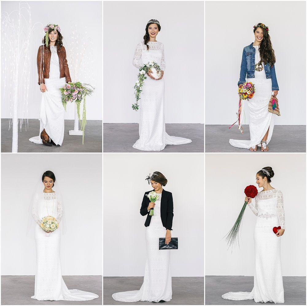 #brautkleid 1 Brautkleid – 6 Looks für eure Hochzeit mit Victoria Rüsche | Hochzeitsblog - The Little Wedding Corner