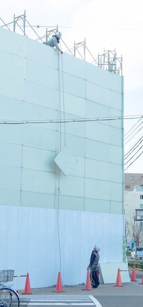 vertical architecture construction