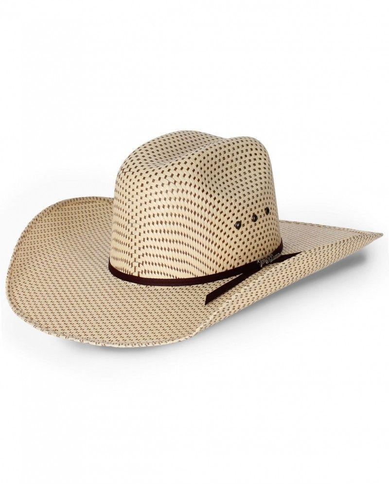 b8b5ae4107991 Tony Lama® Rio-Spotted Sheridan Eyelet Straw Hat