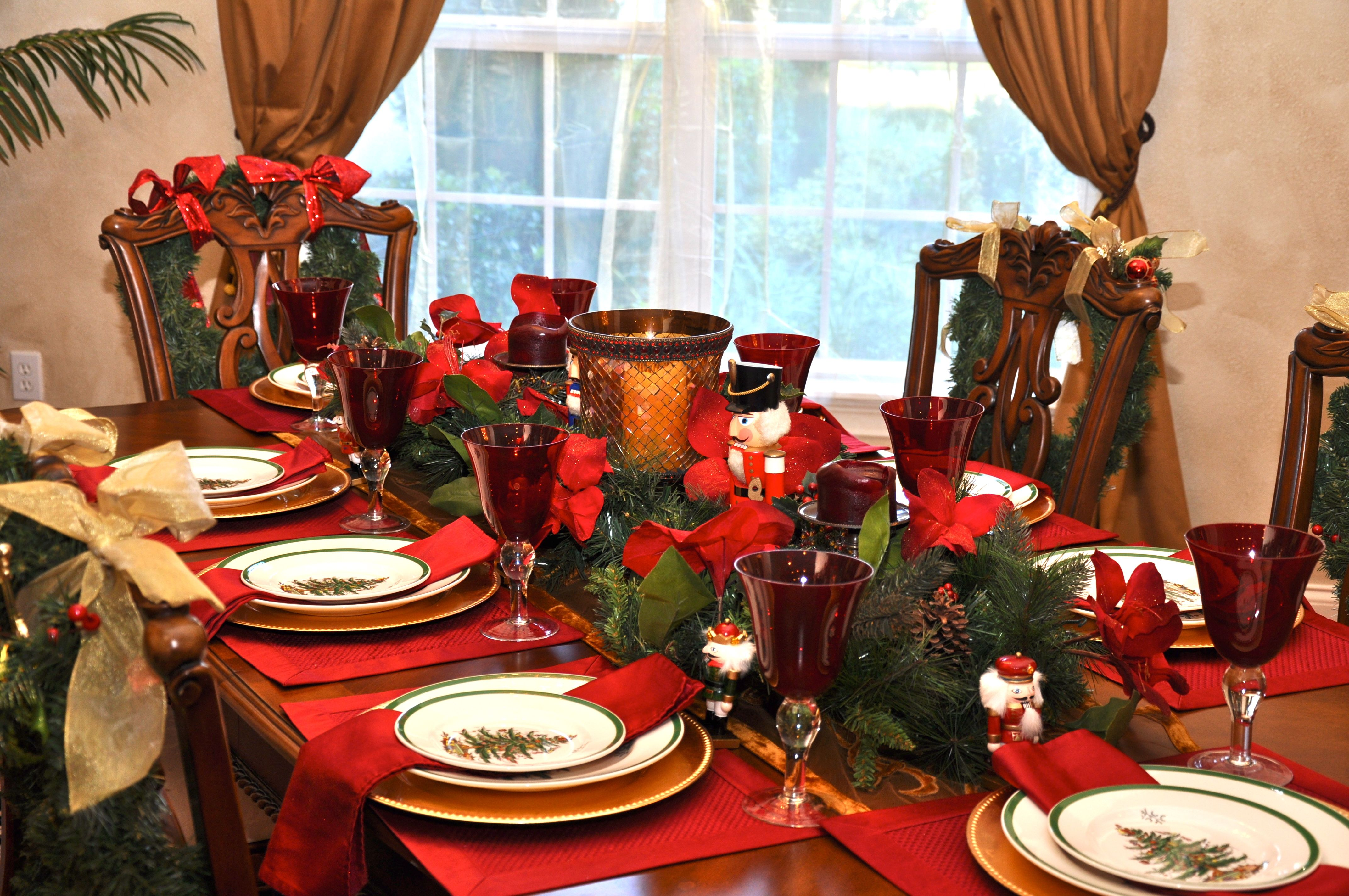 nutcracker table centerpieces Nutcracker Breakfast nutcracker