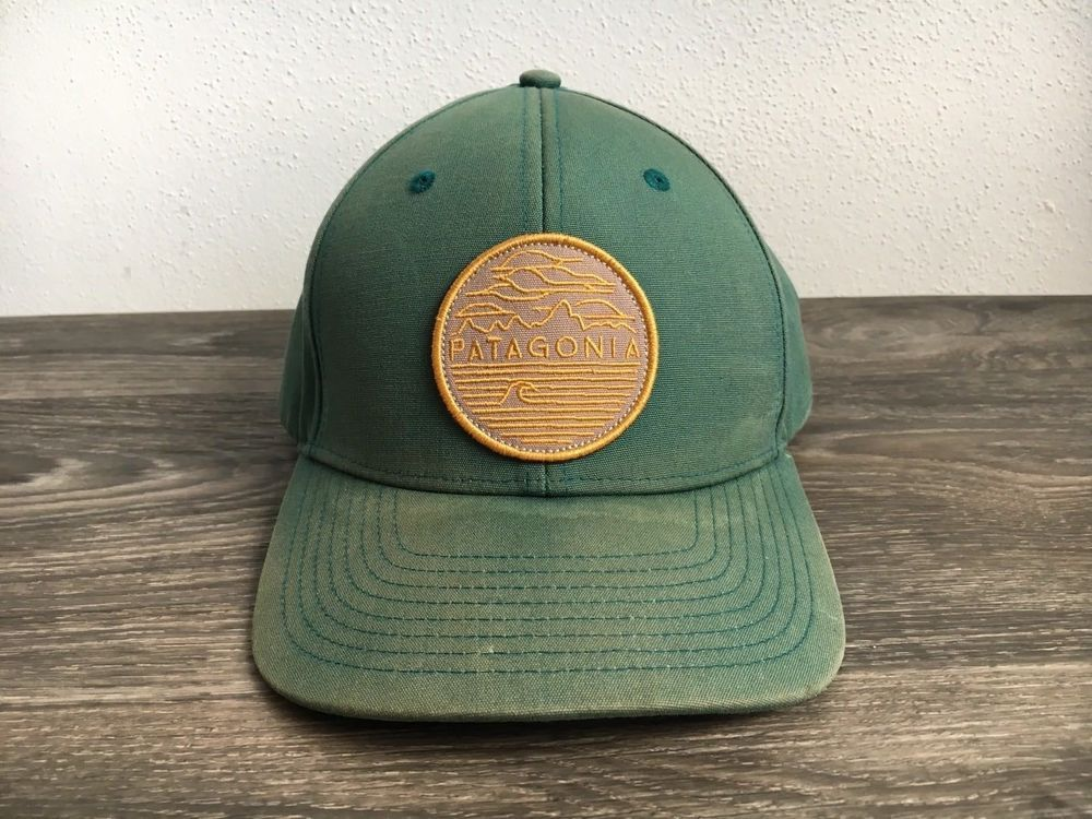 666e9321efe Patagonia Hat Chop Hop Roger That Snapback Rare Patch Outdoors Green Cap   Patagonia  Trucker