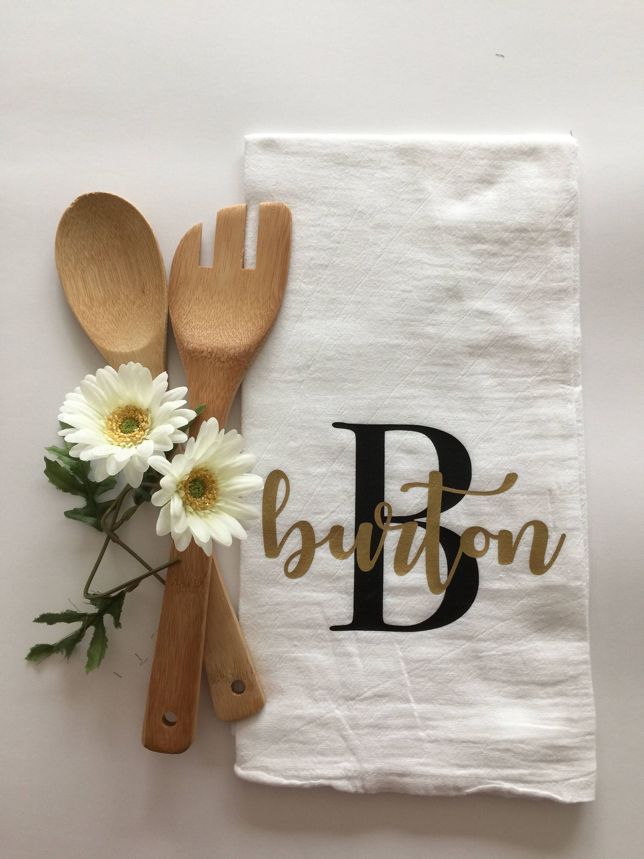 Custom Tea Towels For Every Occasion Order Your Personalized Tea