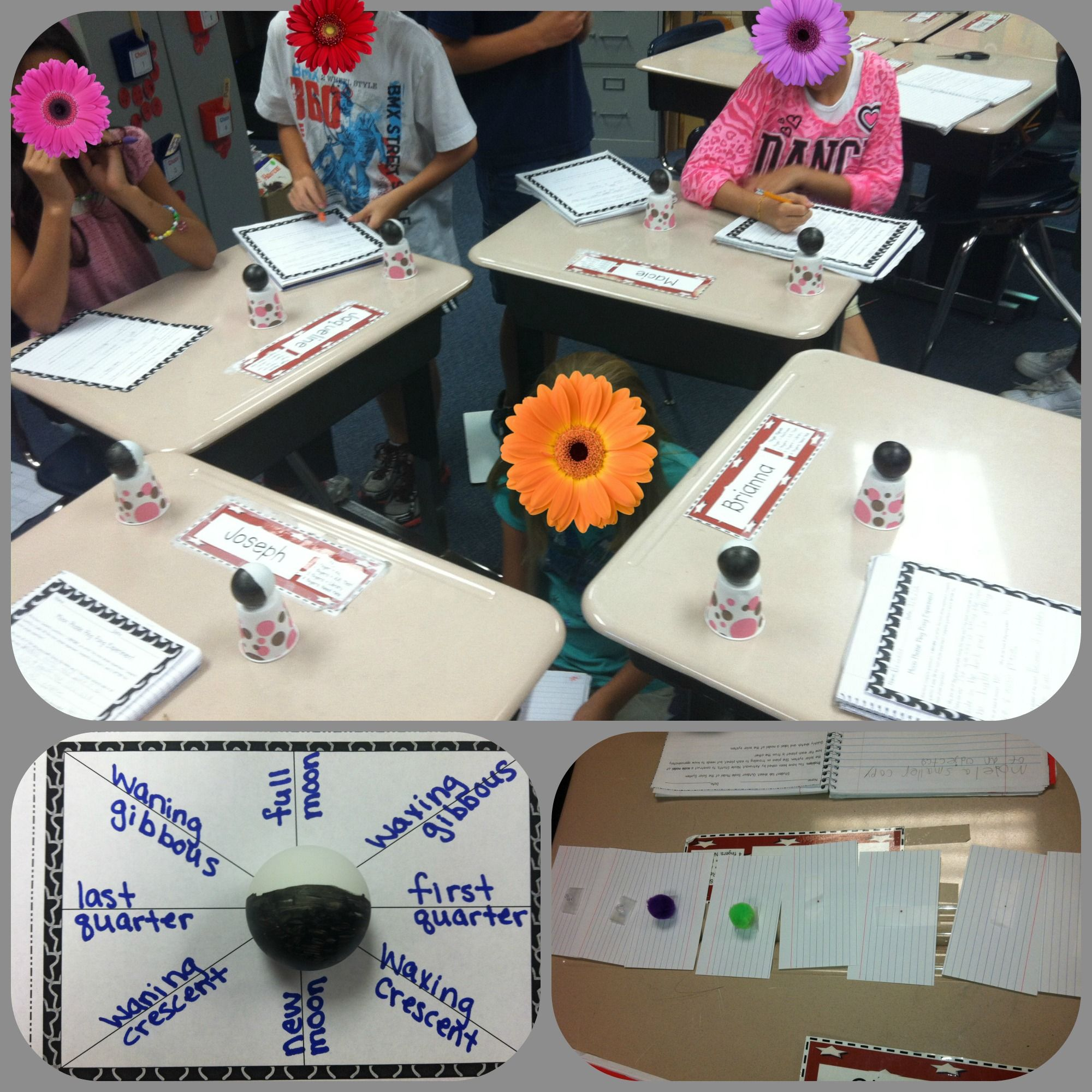 Hands On Inquiry Based Learning Planets And Moon Phases