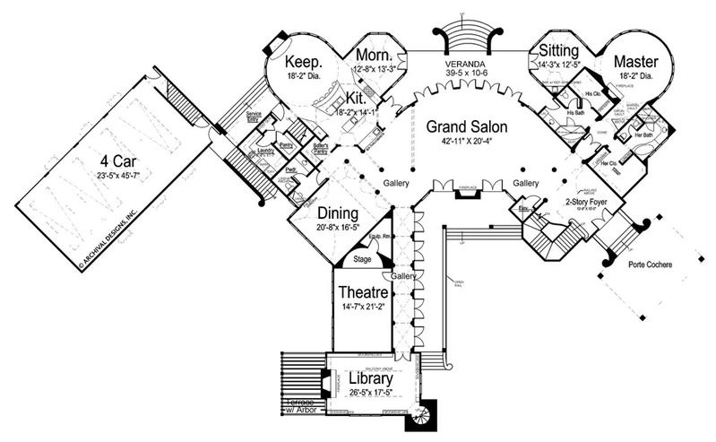 Chateau Novella House Plan In 2020 Luxury House Plans Luxury Plan Floor Plans