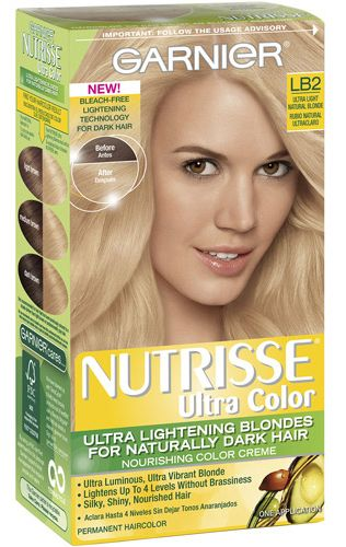 Garnier Nutrisse Ultra Color Lb2 Ultra Light Natural Blonde