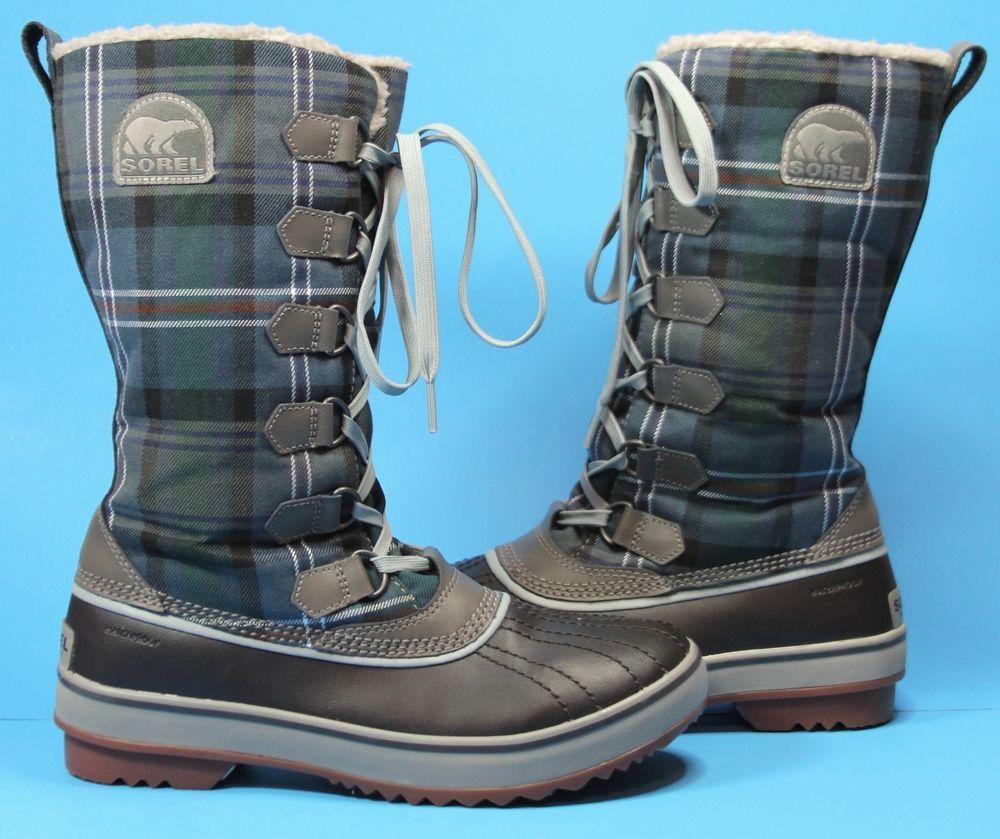 Details about Sorel Women's Snow Boots Tivoli III Black